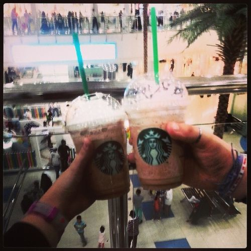 Best day ever with my besti <3 Fun Day StarBuckets
