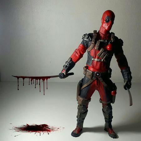 Deadpool. Martial Arts Toygallery Toygroup_alliance Toyphotography Toys Marvel Deadpool Blood