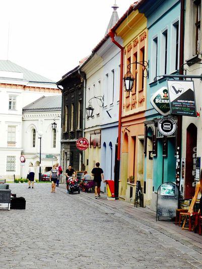 Town Poland Bielsko-Biała Houses Colors Street