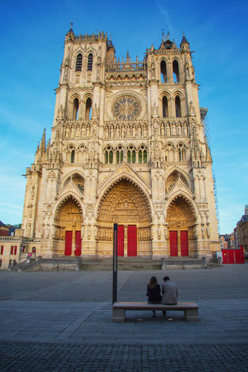Amiens Arch Architecture Building Exterior Church Famous Place France Kathedrale Lifestyles Lover Outdoors Sky Tourism Travel Destinations Vacations
