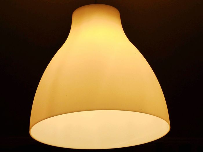 Indoor Photography IndoorPhotography Portugal Lumix Fz72 Illuminated Lighting Equipment Light Bulb Lamp Shade  Electric Lamp Electricity  No People Close-up Black Background Yellow Indoors