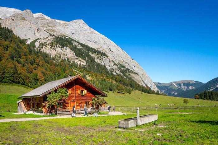 Eng Alm Alm Alpen Australia Cavalier King Charles Spaniel Eng Alm Hiking Karwendel Alps Dog Engalm Gebirge Hikingadventures Hut Karwendelgebirge
