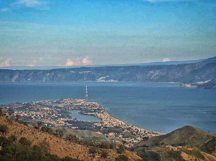 Scenics Day Strait Landscape Sea Travel Destinations Sicily Today :)
