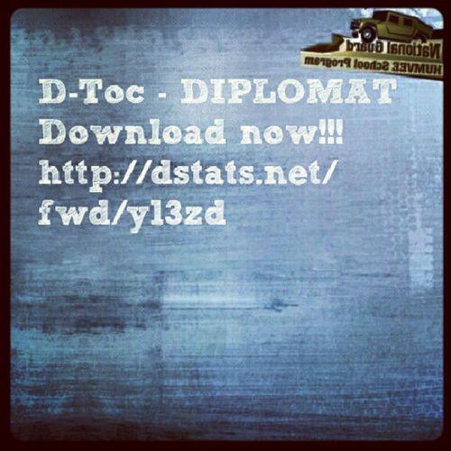 Download the new free mixtape D-Toc - DIPLOMAT // Stahuj novej free mixtape D-Toc - DIPLOMAT ---> http://dstats.net/fwd/y13zd Newrelease New Ifresh Othersideclick OutNow rap mixtape czech diplomat