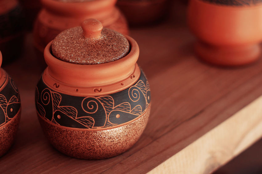 Handmade Craft Pottery Pottery Art Culture Clay Clay Work Pot