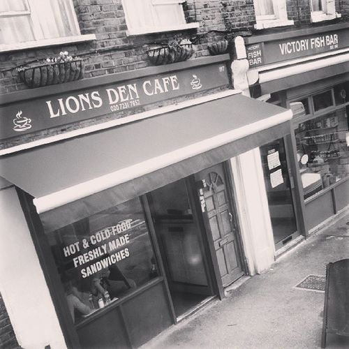 Millwall Thelions Lionsden Cafe greasyspoon victory fishandchips