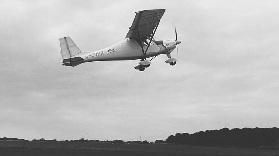 ME flying a plane for my birthday!! 😄🛩💕✌Landscapes With WhiteWall In Motion Landscape Plane Plane Take Off Sky Clouds Eyem Best Shots Check This Out Countryside England Small Plane Sky And Clouds Photography In Motion