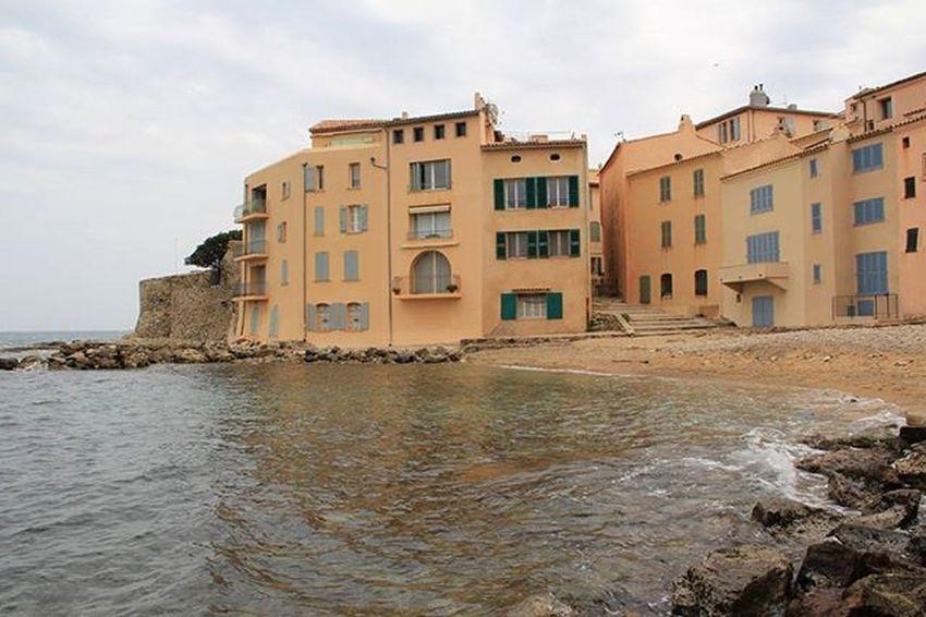 Sainttropez Sea Francia Mare Edifici Seascape Seashore Landscape