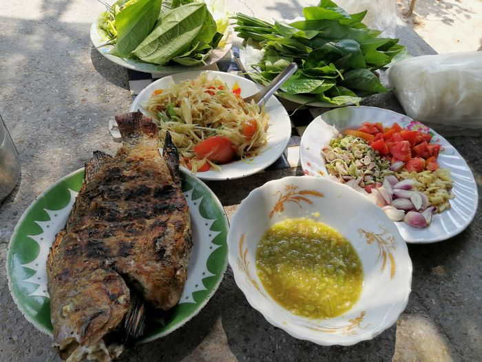 Fosh Food Lunch ASIA Asian  Local Food Thai Countryside