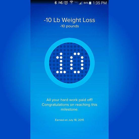 Down 10 lbs!! Winning WORKHARD Workout Fitbit Myfitnesspal Planetfitnesscharleston Pactapp @fitbit @myfitnesspal @planetfitness @pactapp