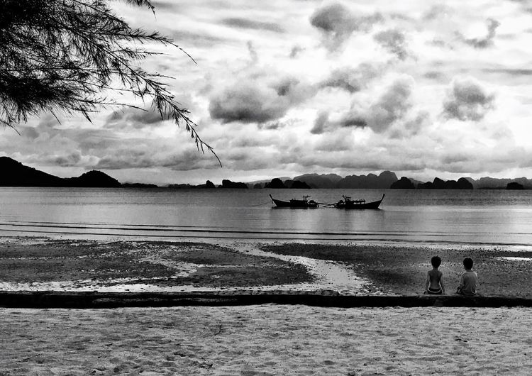 People And Places Children Water Boat Boats Boats⛵️ Beach Beachphotography Beach Photography Blackandwhite Black And White Black & White Blackandwhite Photography Black And White Photography People Photography People Watching People Together Nature Moments Capture The Moment Monochrome Photography
