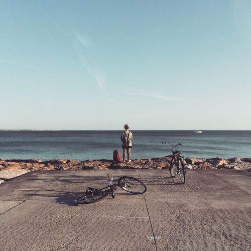 On Your Bike Bycicle Ride Ocean Pitstop