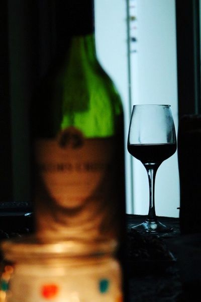 Wine Moments Focus On Foreground Food And Drink Transparent Indoors  Close-up Drink Wineglass Wine Table Drinking Glass Refreshment Alcoholic Drink Alcohol Freshness No People Night Nightphotography Welcome To Black