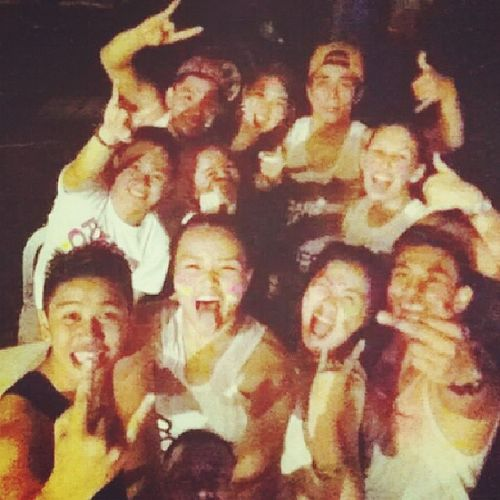 Street Party with these niggas! One of the best nights!! Friends Streetparty2014 Arawngdavao