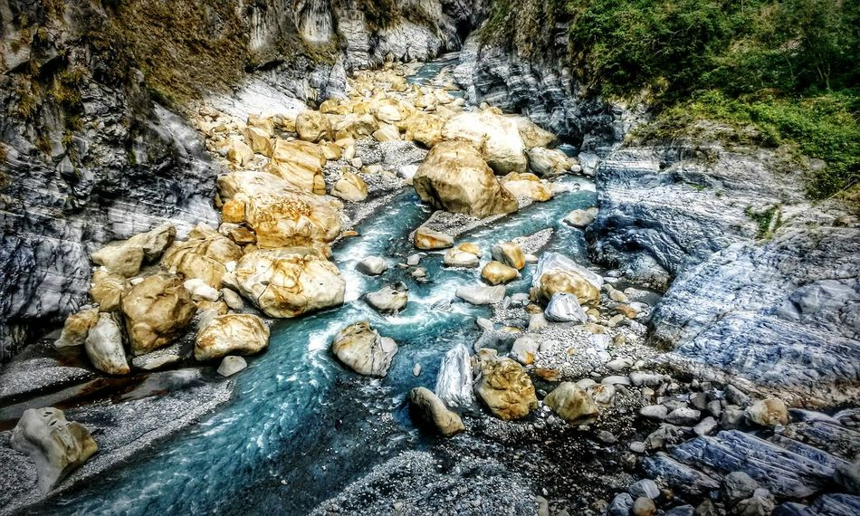 Water Rocks Beauty In Nature Beautiful Nature Phonecamera Taiwan Valley Cool Blue Cool Mood  Flowing Stream