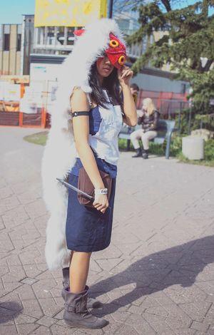 Princess Mononoke Cosplay YYC
