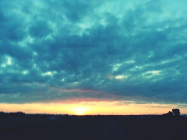 Sun Set Sun Light Dawn