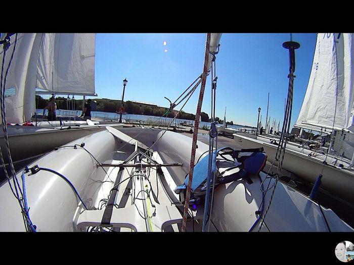 Taking Photos Sailboat Sailing Day Going Sailing Sailing