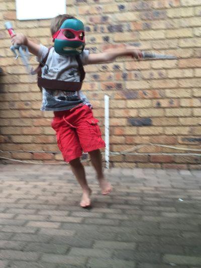Everyday Joy Ninja Turtles Kids Being Kids Face Mask Boys Will Be Boys