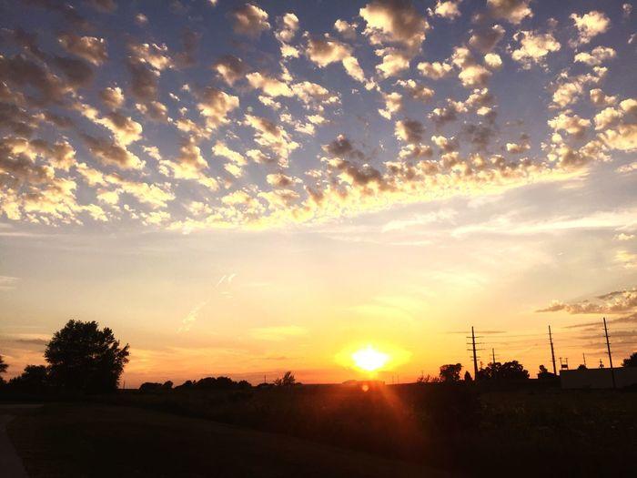 Sunset natureatitsbest First Eyeem Photo
