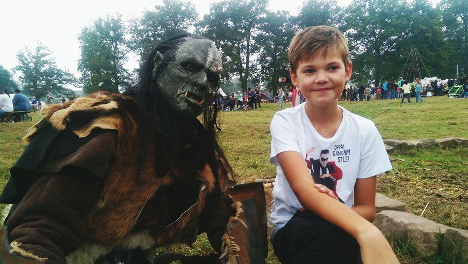 Meet the Ork.... Walking Around