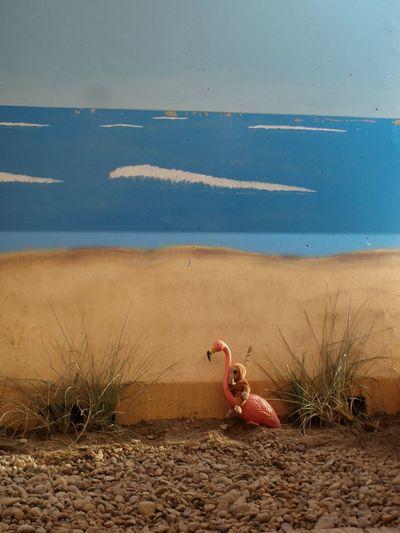 Paintings making it feel like home Iraq War Soldiers Ocean View Home Art Realistic Comfort Painting Teamwork Flamingo Monkey