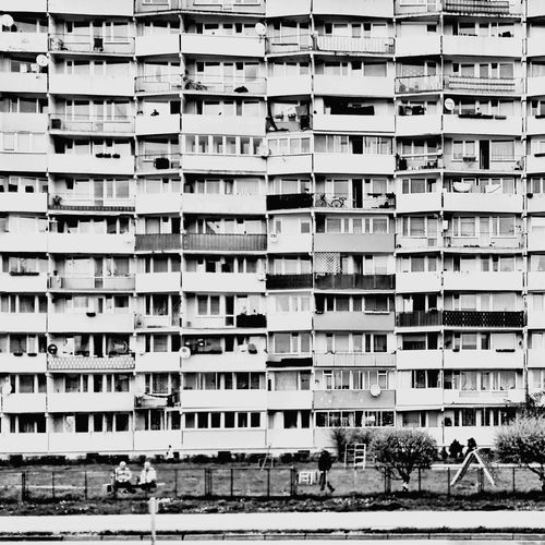 Community Lifestyles Residential Building Social Issues Architecture People Day City Outdoors Travelphotography Life Blackandwhite Photography Black And White Photography B&w Street Photography B&w Photo Mobilephotography Travel Photography Black And White Streetphotography_bw Gdansk (Danzig) Gdansk,poland Gdansk New Port Falowiec