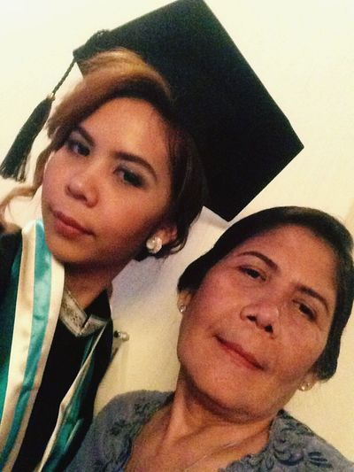 My Year My View Happyyear Happy Time Graduation2016 Daughter Daughter And Mother