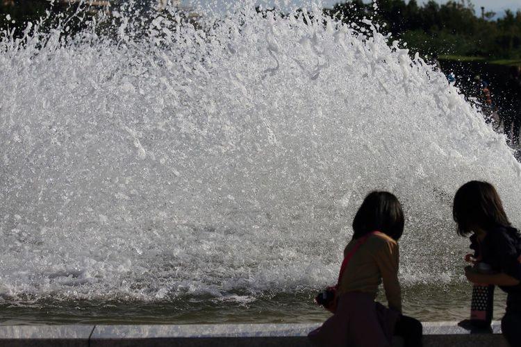 ある日の公園♪(*^^)/