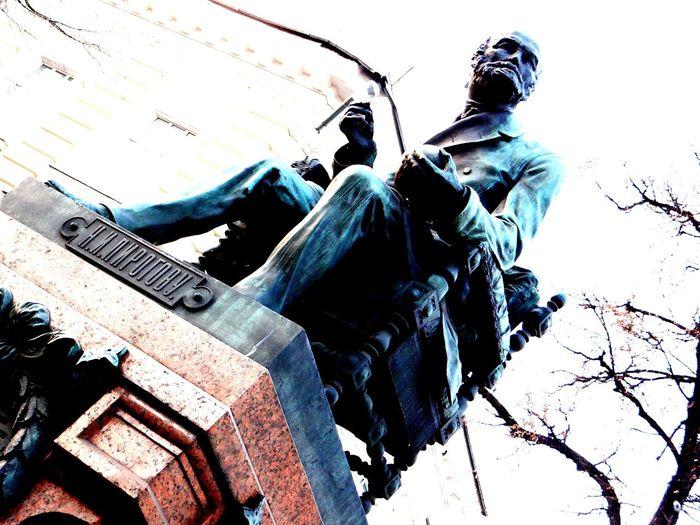 Пирогов памятник врач хирург монумент скульптура Sculpture