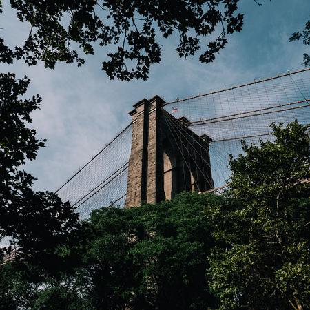 Brooklyn Brooklyn Bridge  Brooklyn Bridge / New York Brooklyn Bridge Park NYC New Yokr New York City Travel USA Flag Travel Destinations Urban