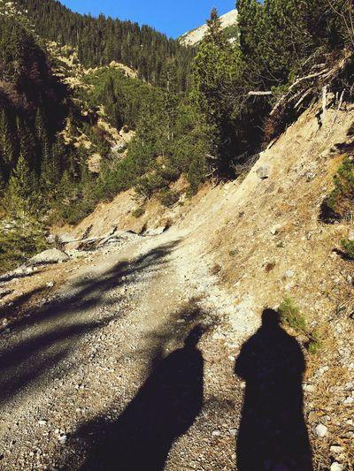 Shadows On A Hike Hiking Kids Hills Enjoying The Sun Gapa1516