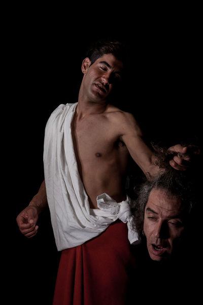 Beheaded Black Background Caravaggio Dark David And Goliath Gay Human Face LGTB Painting Art Palestine Portrait Queer Revenge Studio Shot First Eyeem Photo Girl Power