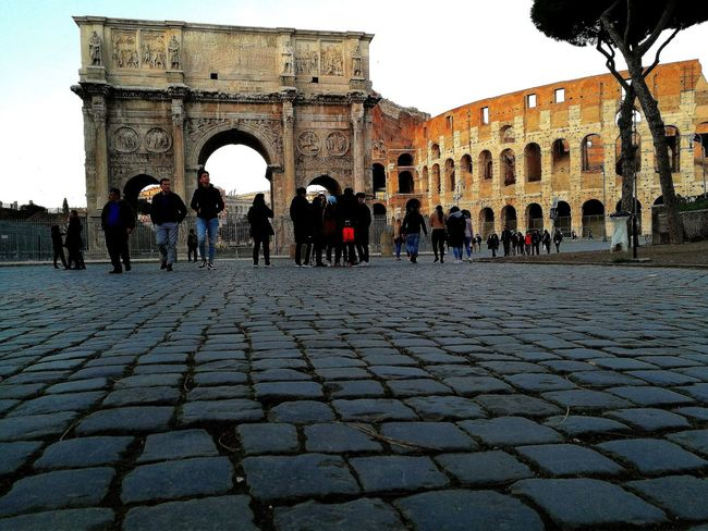 Rome Italy🇮🇹 Colosseum Travel Travel Photography EyeEmNewHere Eye4photography  Citylife People Historic Amazing Beauty Ancient Civilization City Ancient Old Ruin History Arch The Past Sky Architecture Building Exterior Moving Around Rome
