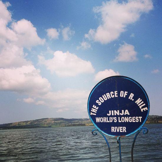The origin! Sky Uganda  NileRiver