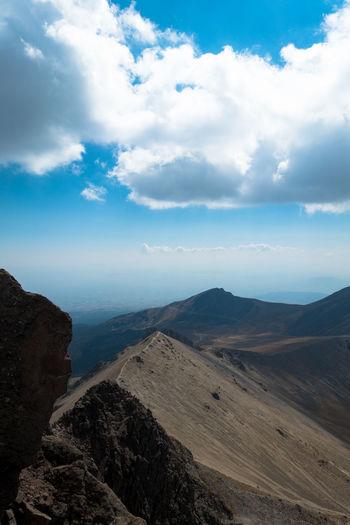 Arid Climate Climbing Cloud - Sky Desert Geology Hiking Mountain Nature Outdoors Volcano Over4000m