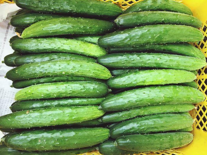きゅうり Vegetable Vegetables & Fruits Cucumbers Food Green Color Food And Drink Freshness No People Healthy Eating Indoors