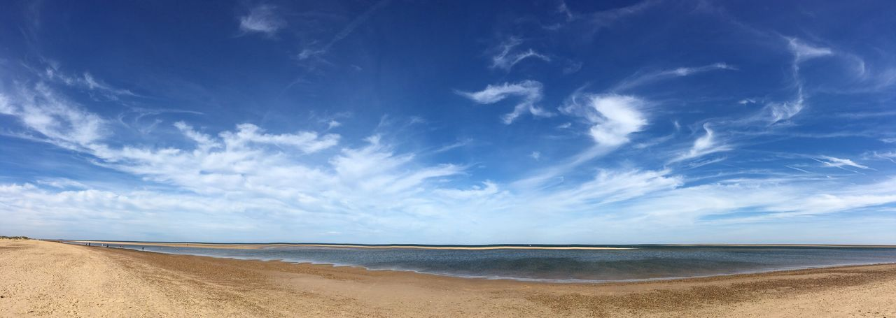 Norfolk Seaside Sky Beach Water Tranquil Scene Sand Tranquility Shore Scenics Blue Sea Beauty In Nature Nature Calm Day Coastline Summer Outdoors