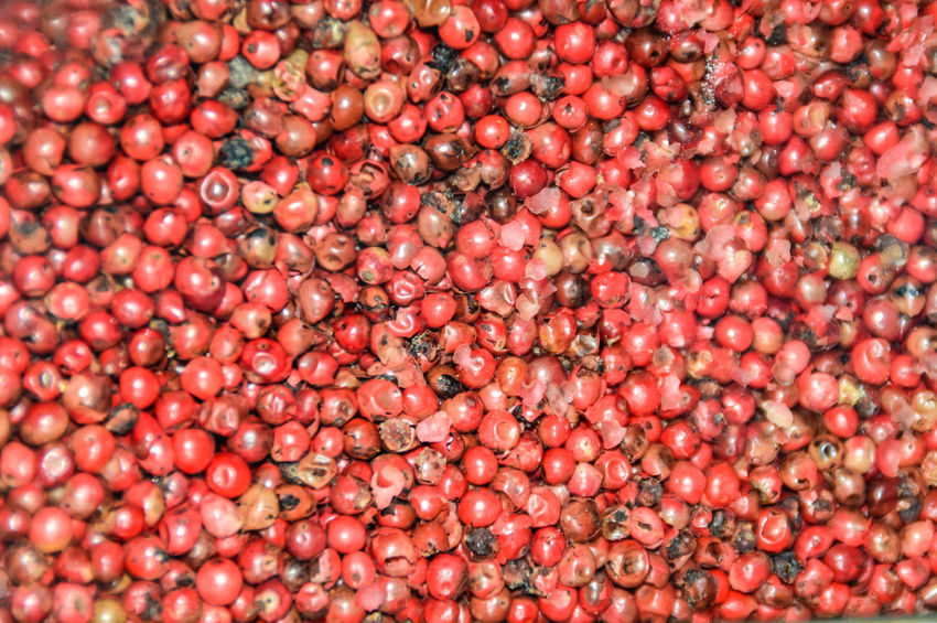 red peppercorn No People Food Texture Background Red Peppercorn Red Spices Of The World Spice Seasoning Pepper - Seasoning Textures and Surfaces Abundance Cooking Ingredient Textures Backgrounds Red Full Frame Agriculture Healthy Lifestyle Close-up Food And Drink Farmer Market Berry Fruit