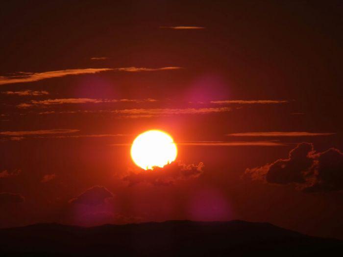 without any editing! Sunrise