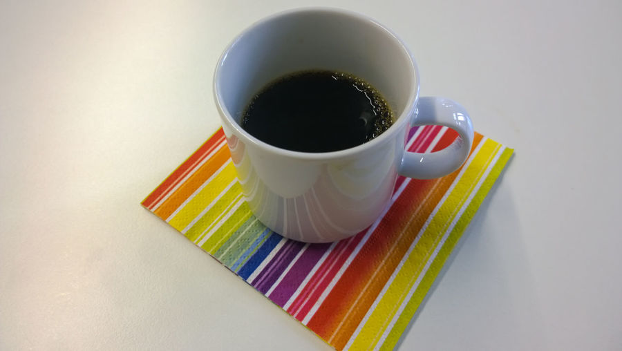 gay coffee Beverage Breakfast Cafexperiment Close-up Coffee Coffee - Drink Coffee Cup Cup Freshness Multi Colored No People Overhead View Rainbow Refreshment Still Life Studio Shot Tea Cup The Street Photographer - 2016 EyeEm Awards White Background