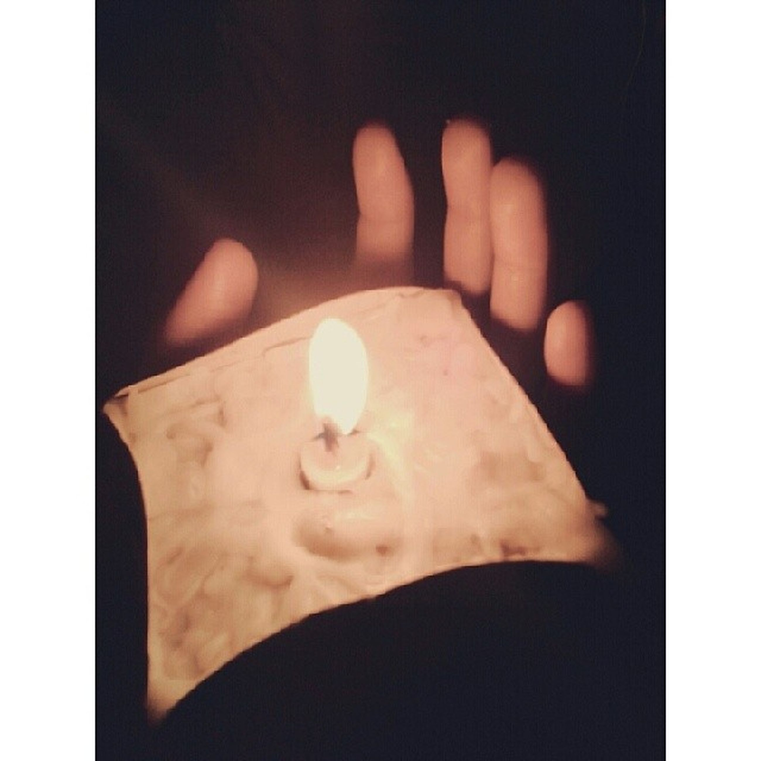 transfer print, indoors, person, auto post production filter, close-up, part of, flame, burning, human finger, holding, copy space, glowing, cropped, lit, unrecognizable person, candle, heat - temperature