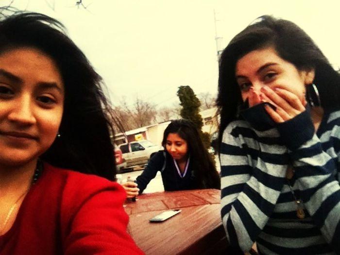 my bestfriend & magali d;
