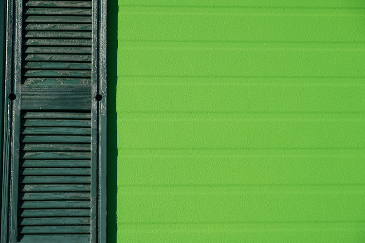 Architecture Backgrounds Break The Mold Building Exterior Built Structure Close-up Closed Copy Space Day Door Green Color Greenery Negative Space No People Outdoors Pattern Textured  Window