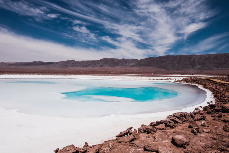 Hidden lagoons in chile