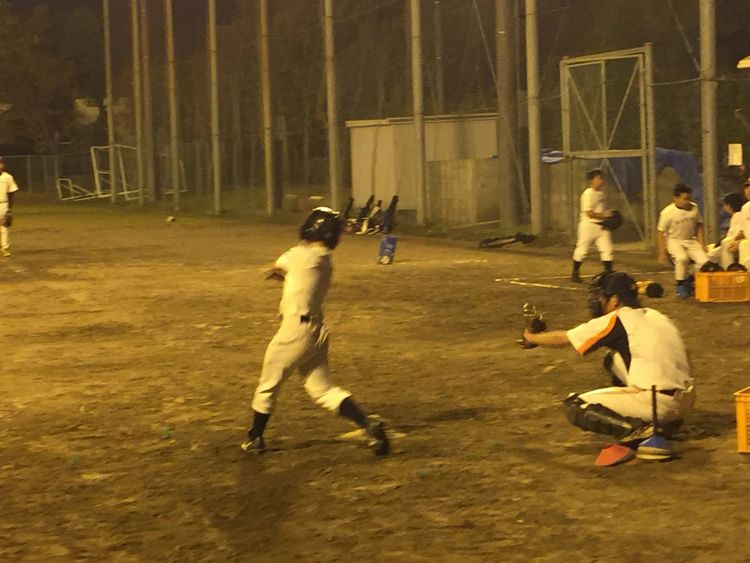 久しぶりに息子の練習を見にいった(^-^)/ 野球 Baseball 少年野球