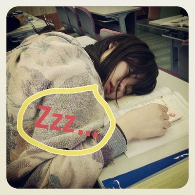 眠いのよね~( ´△`)笑