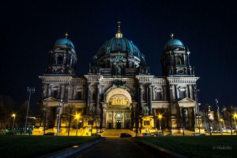 Berliner Dom Heikobo Berlin Dom Night Berliner Dom 11/2016