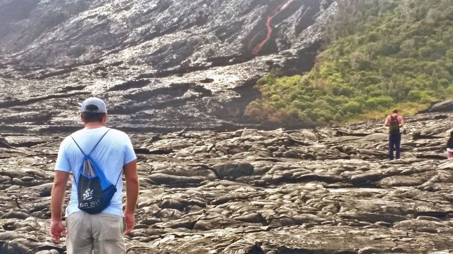 trail to lava
