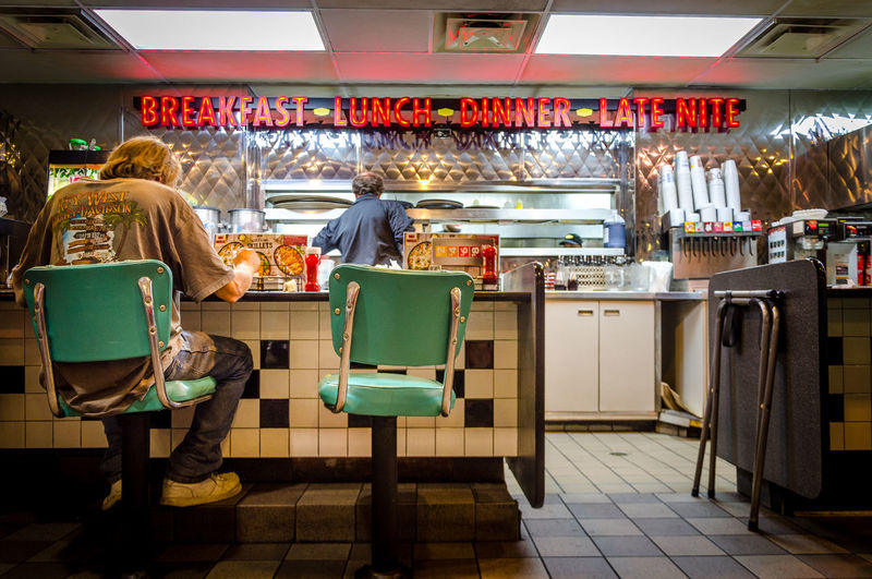 #EyeEmNewHere #architecture #diner #travel #travelphotography Food Indoors  Lifestyles Small Business EyeEmNewHere